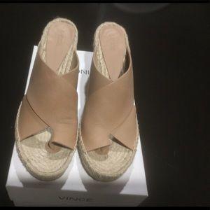 Vince Surabaya Wedge espadrille sandal